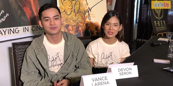 WATCH: Bakwit Boys' Vance Larena and Devon Seron share their experience on filming