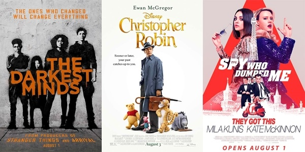 New Movies This Week: The Darkest Minds, Christopher Robin and more!