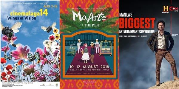Weekender Guide: August 10, 11, and 12, 2018