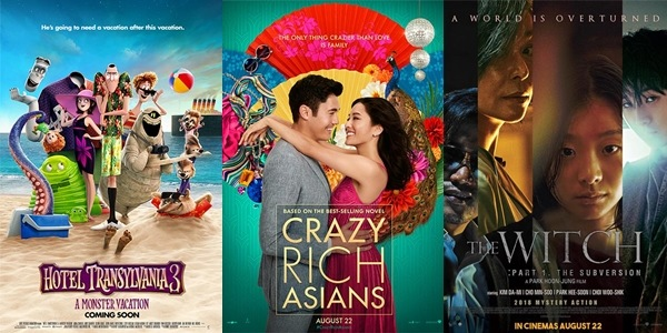 New Movies This Week: Hotel Transylvania 3: A Monster Vacation, Crazy Rich Asians and more!