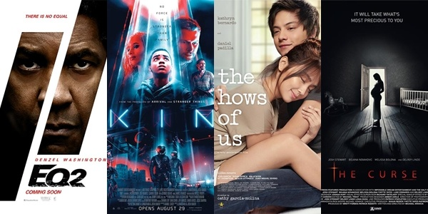 New Movies This Week: The Equalizer 2, The Hows Of Us and more!