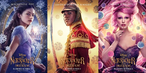 Disney's The Nutcracker and the Four Realms Unveils Character Posters