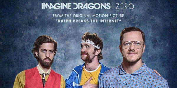 "WATCH: 'Imagine Dragons' Write and Record End-Credit Song ""Zero"" for ""Ralph Breaks the Internet"""