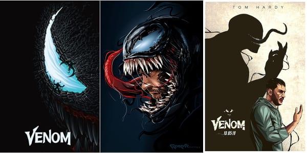 "7 Filipino Artists Among Top Contenders in ""Venom"" Fan Art Contest"