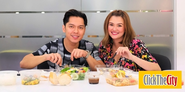 Interview with the Hungry: Carlo Aquino and Angelica Panganiban on Exes Baggage, their theme song and more!