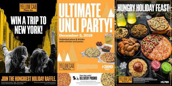 Yellow Cab Fuels The Hungry This Holiday Season