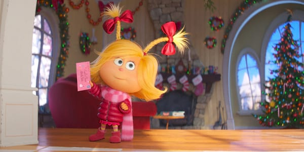 """Cindy-Lou Prevents """"The Grinch"""" from Stealing Christmas"""