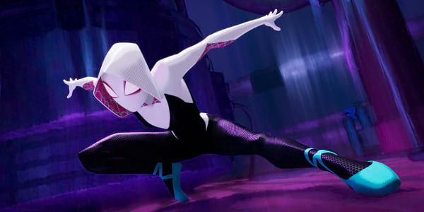 Hailee Steinfeld, Super Cool as Spider-Gwen in Spider-Man: Into the Spider-Verse