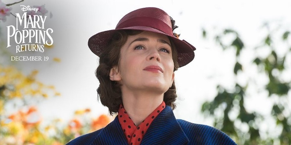 """""""Mary Poppins Returns"""" Vies for Golden Globe, Screen Actors Guild Awards"""