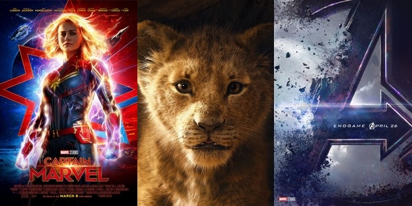 MOVIE GUIDE: All the Disney Films To Watch Out For in 2019