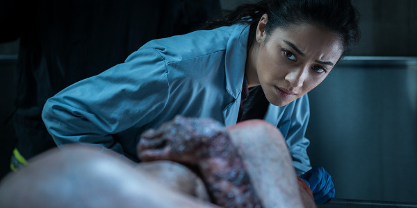 """Shay Mitchell Takes On the Demon in """"The Possession of Hannah Grace"""""""