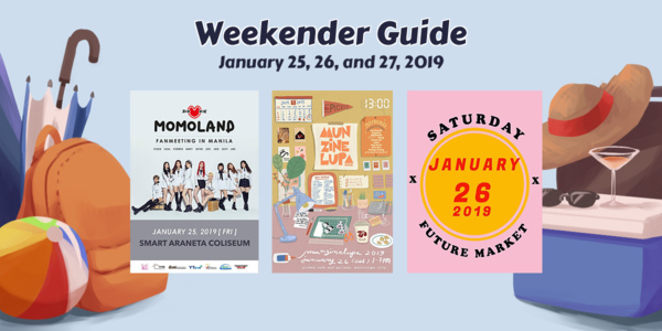 Weekender Guide: January 25, 26, and 27, 2019