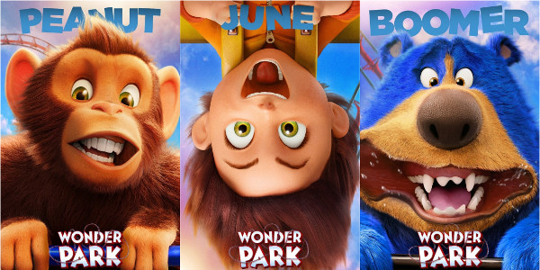 Poster Reveal: The Magical World of 'Wonderpark' Introduces its Characters