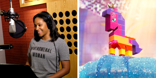 Tiffany Haddish is Queen Watevra, Empress of the Systar System in 'The Lego Movie 2'
