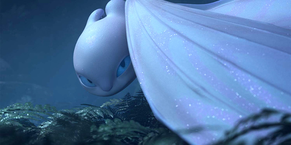 'How to Train Your Dragon: The Hidden World' Introduces Light Fury, a Shimmering Dragon