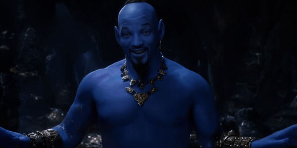 WATCH: Aladdin Sneak Peek Features a Blue Will Smith as the Genie