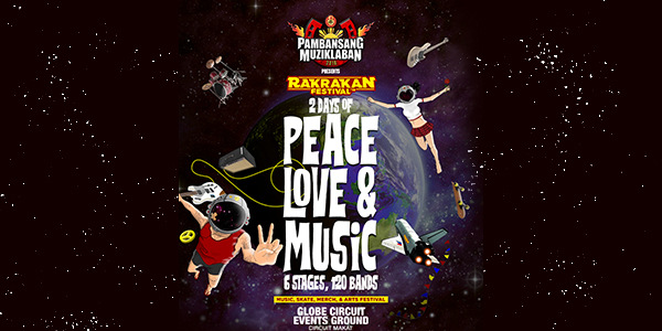 Rakrakan Festival Returns With 120 OPM Bands and Artists This March!