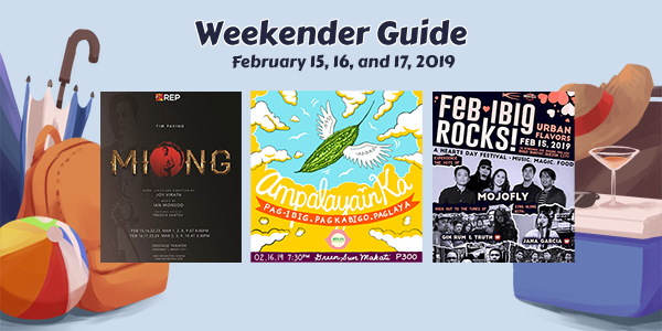 Weekender Guide: February 15, 16, and 17, 2019