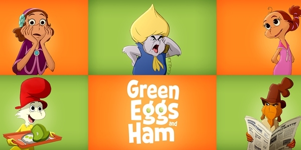 Green Eggs and Ham', A New Animated Series Based on the Book