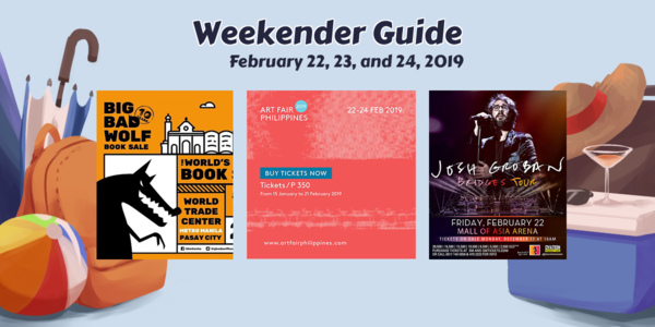 Weekender Guide: February 22, 23, and 24, 2019