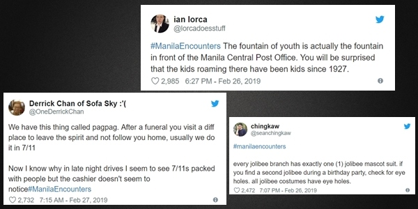 Hashtag #ManilaEncounters on Twitter Will Give You the Creeps
