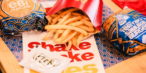 McDonald's Introduces Japanese Flavors to their Burgers, Shake Shake Fries, and McFloat!