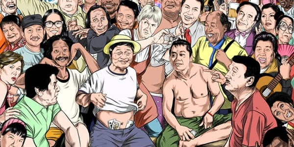 Legendary Pinoy Comedians Crossover in New Comic Book