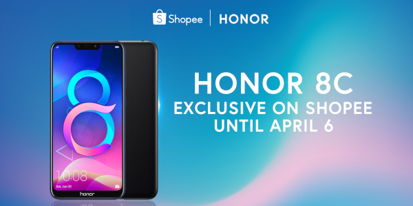 Honor 8C Exclusive on Shopee Until April 6