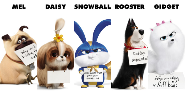 Universal Pictures and Illumination's 'The Secret Life of Pets 2' Unveils Character Posters