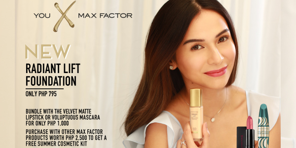 Max Factor Radiant Lift Bundle Promo