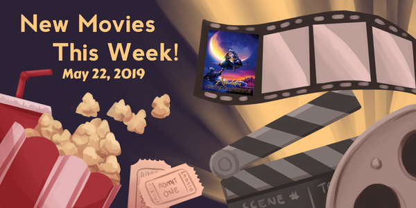 New Movies This Week: Aladdin and more!