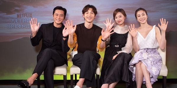Exclusive Q&A with the Lead Cast of Netflix Drama, 'Arthdal Chronicles'