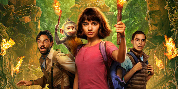 Dora Goes to Cinemas in 'The Lost City of Gold'