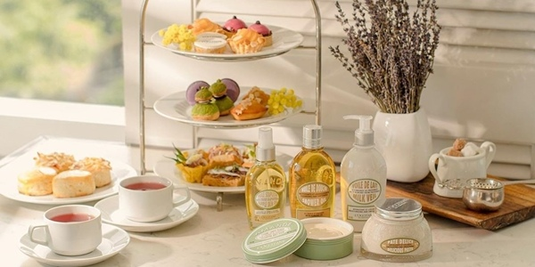 Get Freebies from L'Occitane When You Avail of Raffles Makati's Afternoon Tea