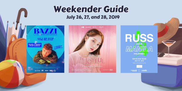 Weekender Guide: July 26, 27, and 28, 2019