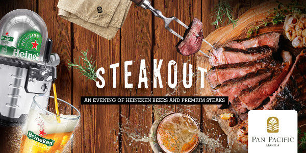 Read more about the article Unlimited Premium Steak and Heineken Draught Beer  at Pan Pacific Manila