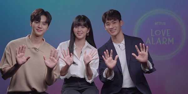 WATCH: Exclusive Q&A with Lead Cast of Netflix K-Drama 'Love Alarm'