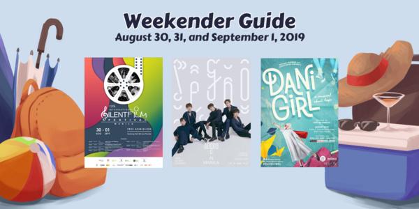 Weekender Guide: August 30, 31, and September 1, 2019