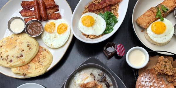 Fridays Breakfast Club: TGI Fridays BGC Now Offers a Morning Menu