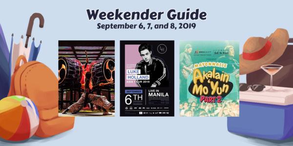 Weekender Guide: September 6, 7, and 8, 2019