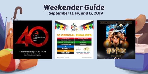 Weekender Guide: September 13, 14, and 15, 2019