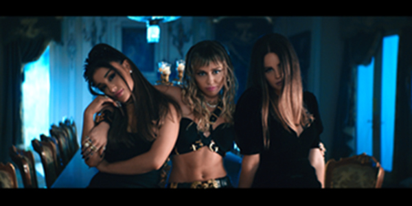WATCH: Ariana, Miley, & Lana's 'Don't Call Me Angel' Music Video