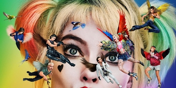 'Birds of Prey' Poster Features Winged Cast Over Harley's Head