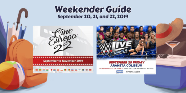 Weekender Guide: September 20, 21, and 22, 2019