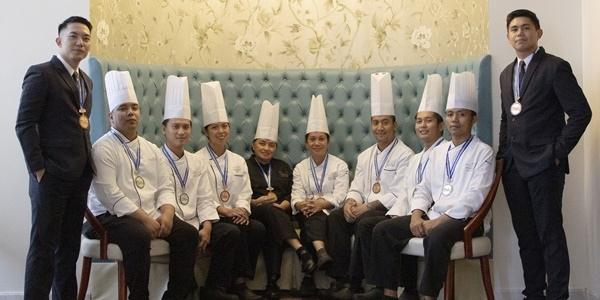 Sample Award-Winning Dishes at Makati Diamond Residences