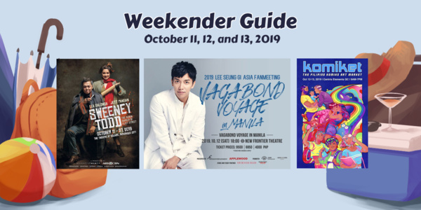 Read more about the article Weekender Guide: October 11, 12, and 13, 2019