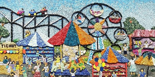 Read more about the article IN PHOTOS: 'Bai Bai, Bukid' An Exhibit of Intricate Mosaic Art Pieces