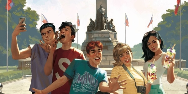 LOOK: Comic Icons Archie and Friends Travel to PH