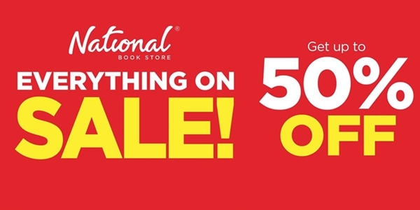 Score Up to 50% Discounts on National Book Store's Christmas Sale