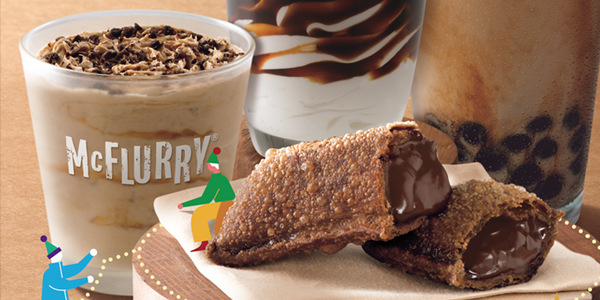 McDonald's Releases Rich Chocolate Pie and More For The Holidays!